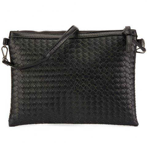 8ba3bca0641f Black Clutch Bag With Long Strap | Stanford Center for Opportunity ...