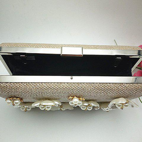 Best Beaded Clutch Evening Bag - CHAMPAGNE  Mobile