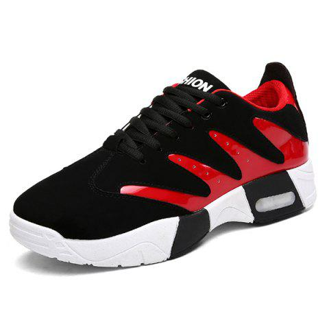 Hot Suede Round Toe Sneakers