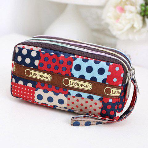 Cheap Polka Dot Printed Wristlets