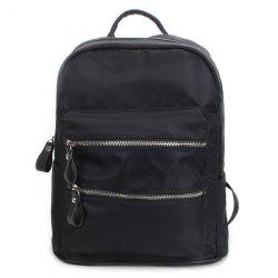 Zipper Front Pocket Backpack