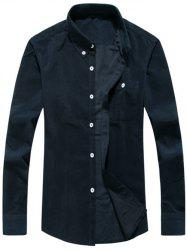 Chest Pocket Corduroy Chemise -