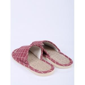 Plaid Color Block Maison Chaussons -
