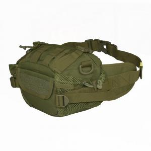 1000D Outdoor Waterproof Multifunctional Tactical Waist Bag - Army Green - 42