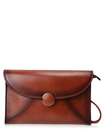 Outfits PU Leather Envelope Clutch Bag