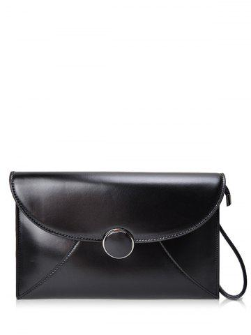 New PU Leather Envelope Clutch Bag
