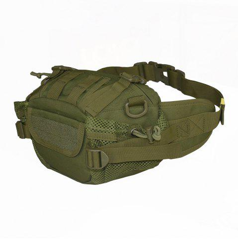Fancy 1000D Outdoor Waterproof Multifunctional Tactical Waist Bag - ARMY GREEN  Mobile
