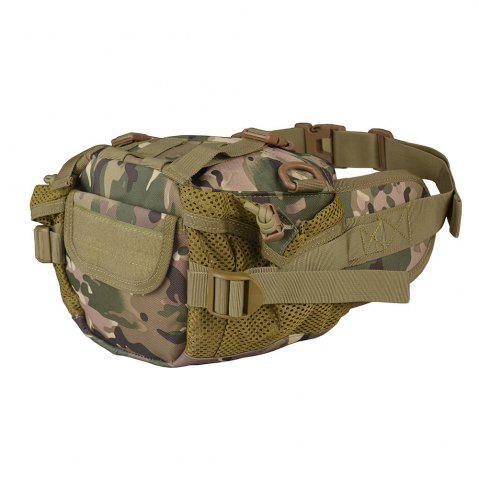 Store 1000D Outdoor Waterproof Multifunctional Tactical Waist Bag - CP CAMOUFLAGE  Mobile