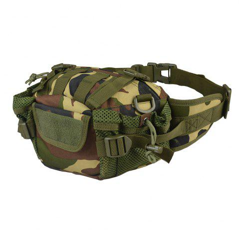 Hot 1000D Outdoor Waterproof Multifunctional Tactical Waist Bag - JUNGLE CAMOUFLAGE  Mobile