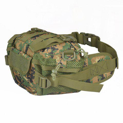 Online 1000D Outdoor Waterproof Multifunctional Tactical Waist Bag - DIGITAL JUNGLE CAMOUFLAGE  Mobile