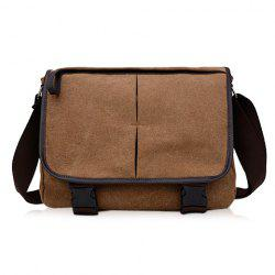 Canvas Messenger Sling Bag