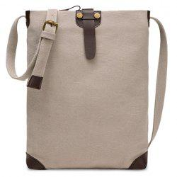 Canvas Strap Unisex Crossbody Bag