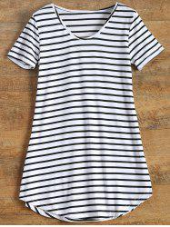 Tunic Striped T-Shirt