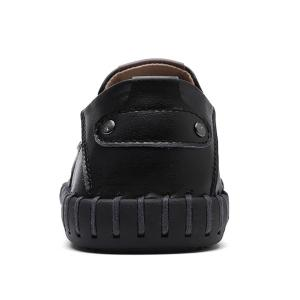 Whipstitch Detail Slip On Casual Shoes -