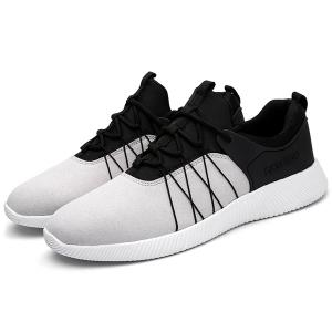 Suede Insert Athletic Shoes -