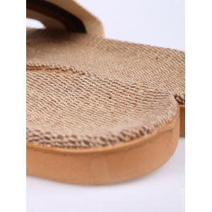Striped Ombre House Slippers - COFFEE SIZE(44-45)