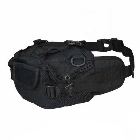 Outfits 1000D Outdoor Waterproof Multifunctional Tactical Waist Bag - BLACK  Mobile