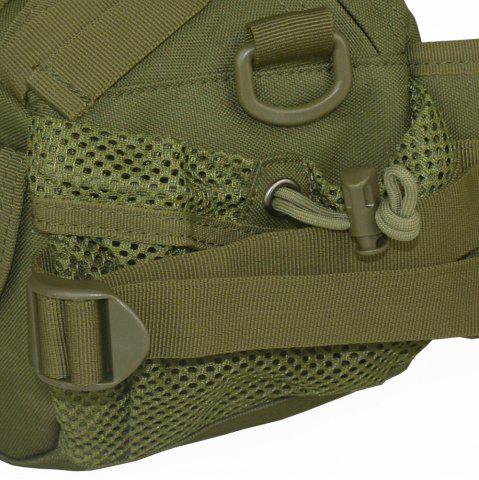 Hot 1000D Outdoor Waterproof Multifunctional Tactical Waist Bag - ARMY GREEN  Mobile