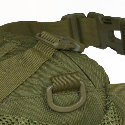 Shop 1000D Outdoor Waterproof Multifunctional Tactical Waist Bag - ARMY GREEN  Mobile
