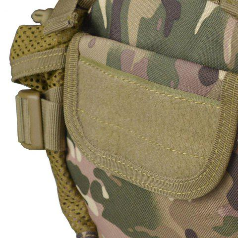 Hot 1000D Outdoor Waterproof Multifunctional Tactical Waist Bag - CP CAMOUFLAGE  Mobile