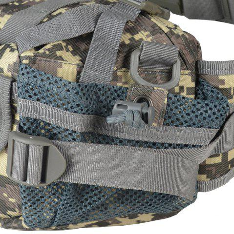 Latest 1000D Outdoor Waterproof Multifunctional Tactical Waist Bag - ACU CAMOUFLAGE  Mobile