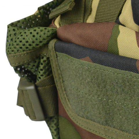 Latest 1000D Outdoor Waterproof Multifunctional Tactical Waist Bag - JUNGLE CAMOUFLAGE  Mobile