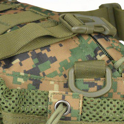 Outfits 1000D Outdoor Waterproof Multifunctional Tactical Waist Bag - DIGITAL JUNGLE CAMOUFLAGE  Mobile