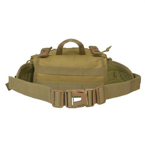 Fancy 1000D Outdoor Waterproof Multifunctional Tactical Waist Bag - KHAKI  Mobile
