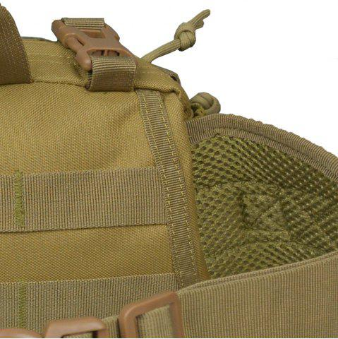 Hot 1000D Outdoor Waterproof Multifunctional Tactical Waist Bag - KHAKI  Mobile