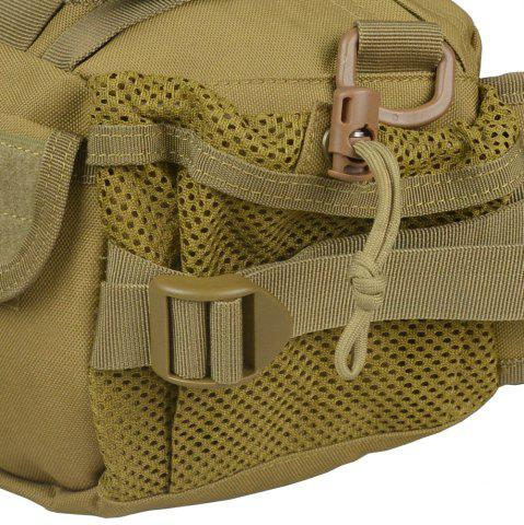 Shop 1000D Outdoor Waterproof Multifunctional Tactical Waist Bag - KHAKI  Mobile