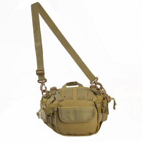 Outfits 1000D Outdoor Waterproof Multifunctional Tactical Waist Bag - KHAKI  Mobile