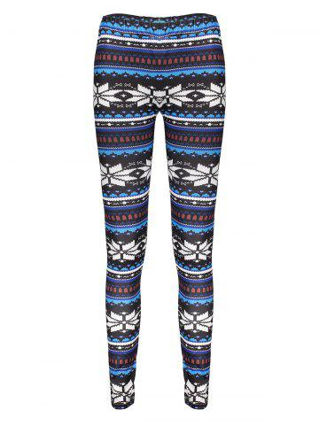 Trendy Stylish Elastic Waist Skinny Printed Women's Leggings COLORMIX ONE SIZE(FIT SIZE XS TO M)