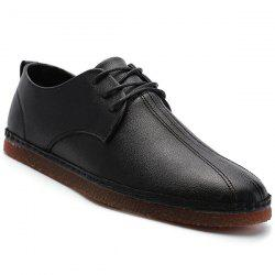 Faux cuir à bout rond Chaussures Casual -