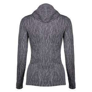 Dry-Quick Heathered Drawstring Hoodie -
