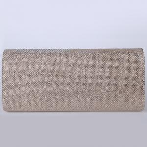 Fingers Pattern Flapped Clutch Bag -