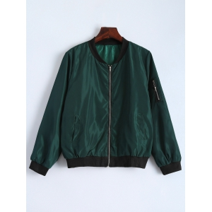 Full Zip Flight Jacket