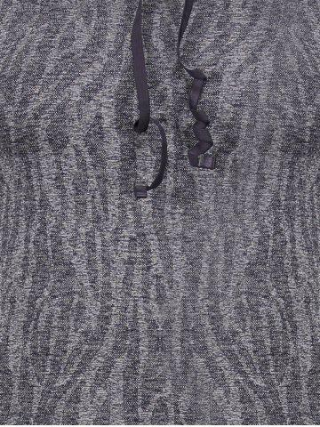 Hot Dry-Quick Heathered Drawstring Hoodie - L GRAY Mobile