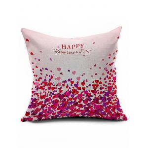 Love Heart Pattern Happy Valentine's Day Pillow Case
