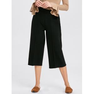 High Waisted Crop Wide Leg Pants
