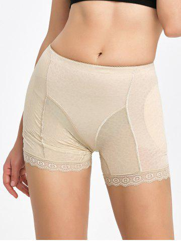 Buy Lace Trim Padded Panties Boyshorts - XL COMPLEXION Mobile