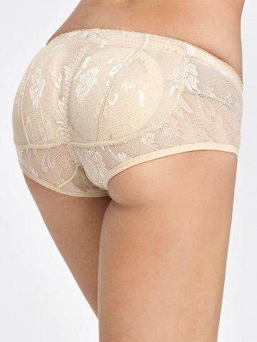 Best Padded Lace Insert Briefs - XL COMPLEXION Mobile