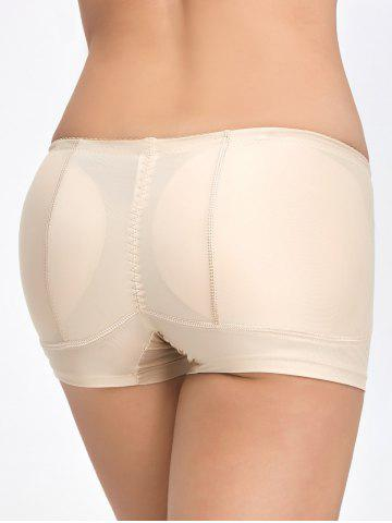 Shop Padded Midi Waist Boyshorts Panties - 2XL COMPLEXION Mobile