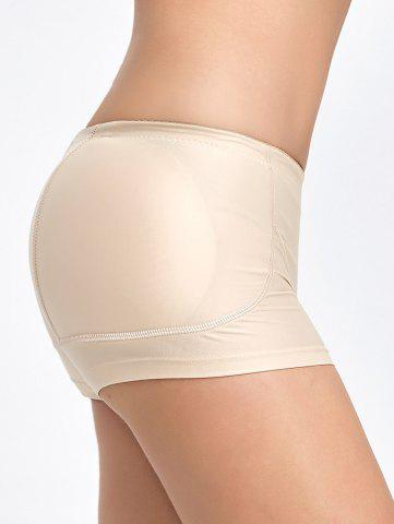 Discount Padded Midi Waist Boyshorts Panties - XL COMPLEXION Mobile