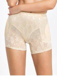 Floral See-Through Padded Boyshorts