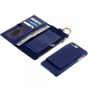 2 en 1 Case Wallet détachables Pour iPhone Samsung -