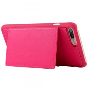 2 en 1 Case Wallet détachables Pour iPhone Samsung - rose POUR IPHONE 5 / 5S / SE