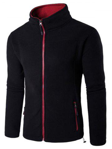 Buy Zip Up Pocket Fleece Jacket
