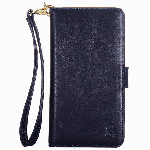 Best 2 In 1 Detachable Wallet Phone Case - FOR IPHONE 6 / 6S BLUE Mobile