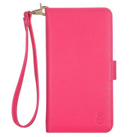 Cheap 2 In 1 Detachable Wallet Phone Case - FOR IPHONE 6 PLUS / 6S PLUS ROSE RED Mobile