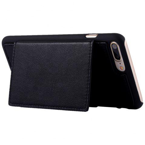 Buy 2 In 1 Detachable Wallet Case For iPhone Samsung - FOR IPHONE 5 / 5S / SE BLACK Mobile